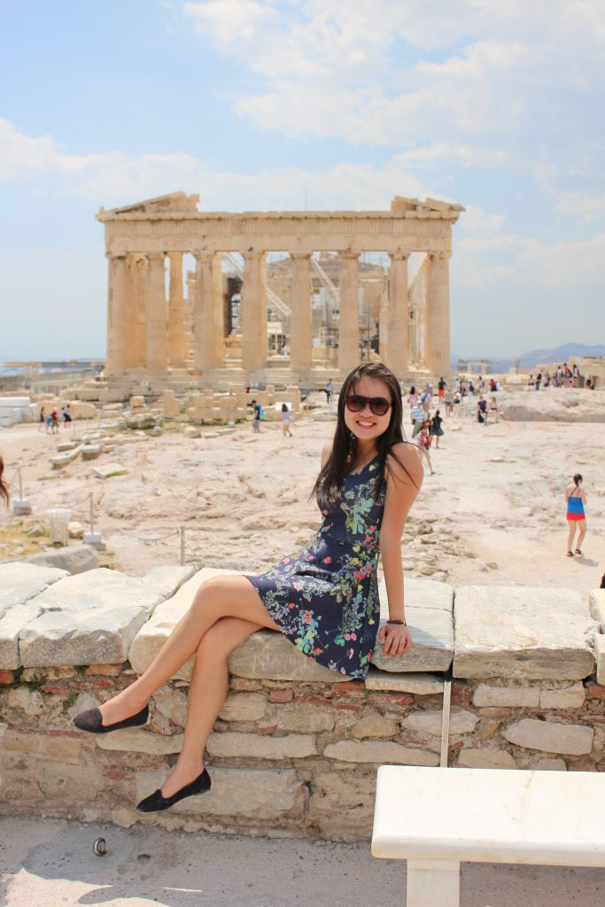Athens, Greece; best places to visit in greece in october