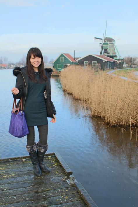 Zaanse Schans, amsterdam famous for