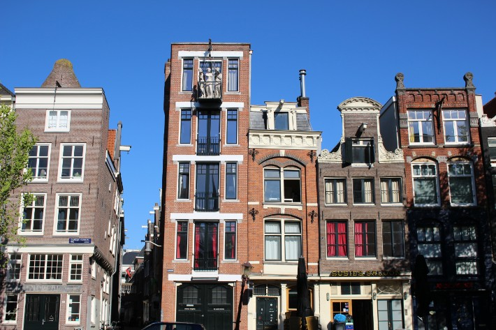 amsterdam houses, Visiting Amsterdam for the First Time