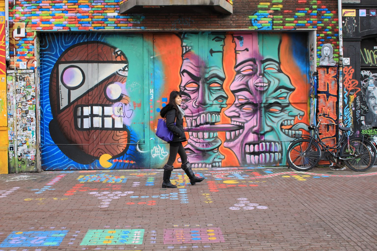 graffiti, street art, amsterdam famous for, Visiting Amsterdam for the First Time