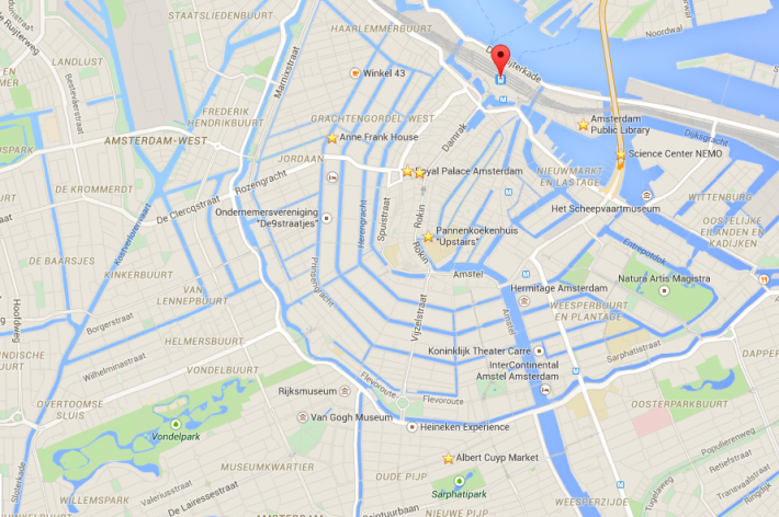 amsterdam map, amsterdam famous for, Visiting Amsterdam for the First Time