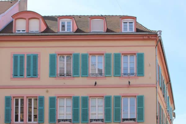 things to do in colmar france exterior decoration traditional half timbre building pastel