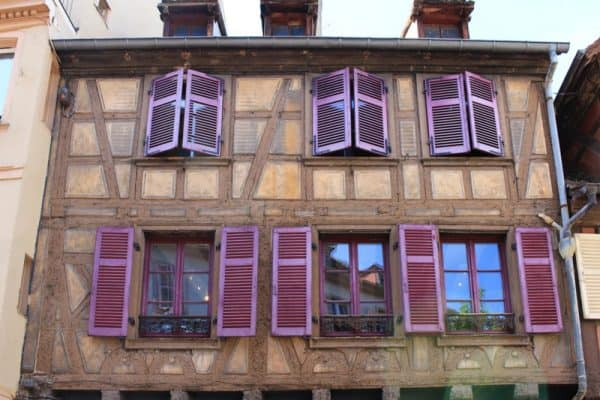 things to do in colmar france exterior decoration traditional half timbre building house windows