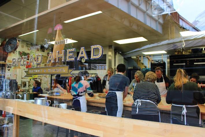 Bakery school, London, UK