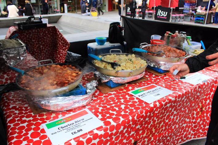 Italian Food, London, UK