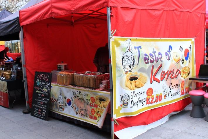 Korean Food, London, UK