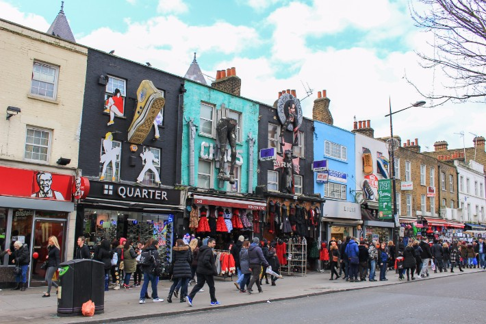 Camden Town, London, UK