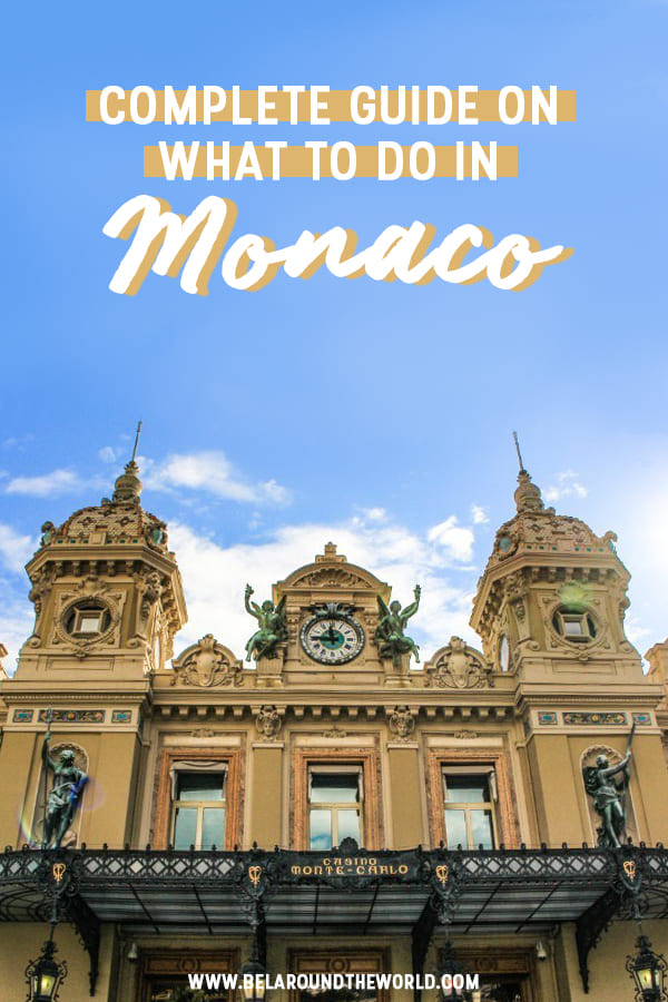 Get ideas on what to do in Monaco, best hotels in monaco and how to make the most of your time here!