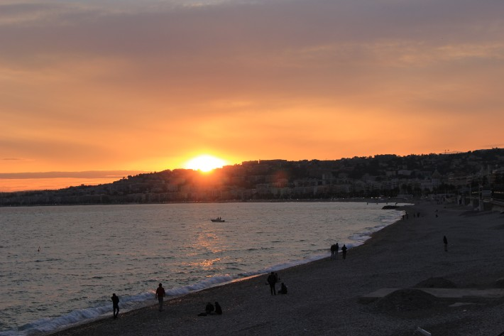 Sunset French Rivieria, things to do in nice france, nice france