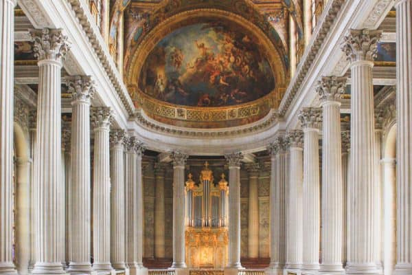 versailles france palace building majestic pillars