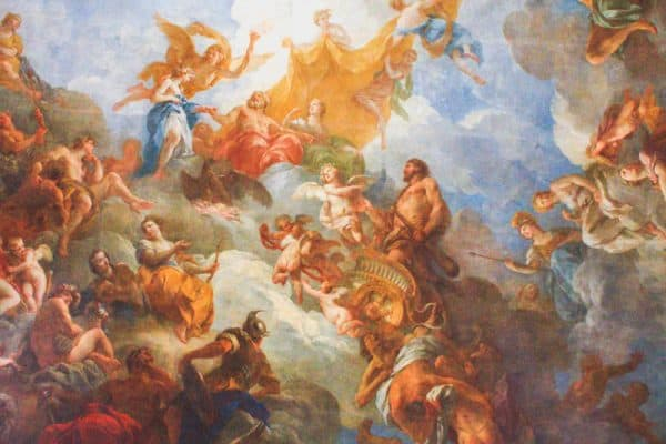 versailles france palace painting