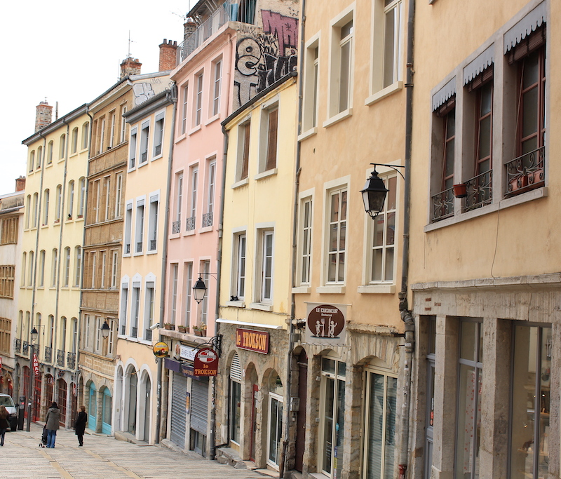 colourful houses, things to do in lyon france, where to stay in lyon