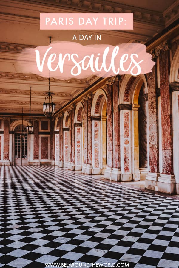 Day trip to #Versailles from #Paris, #France - get all the practical information such as how to get to Versailles from Paris and more in this post! #europe