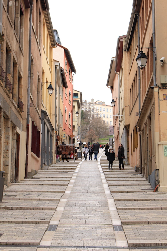 steps street, things to do in lyon france, where to stay in lyon