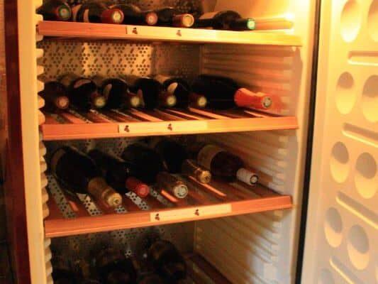 wine cellar, paris to versailles