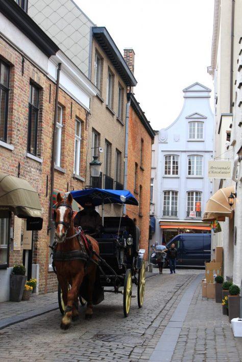 Bruges Belgium horse carriage, bruges walking tour, brugge city tour