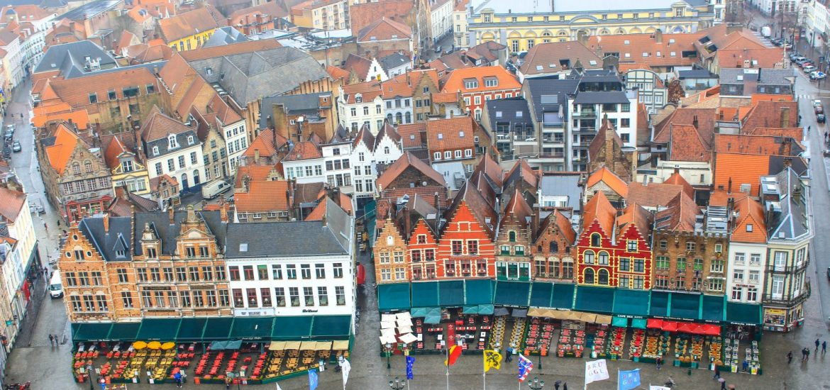 a self walking tour of bruges belgium