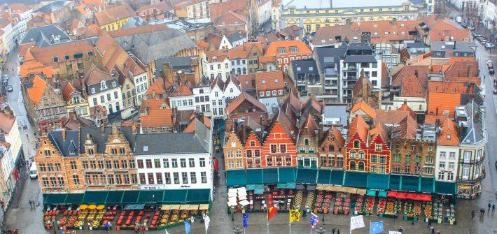 Bruges Belgium markt