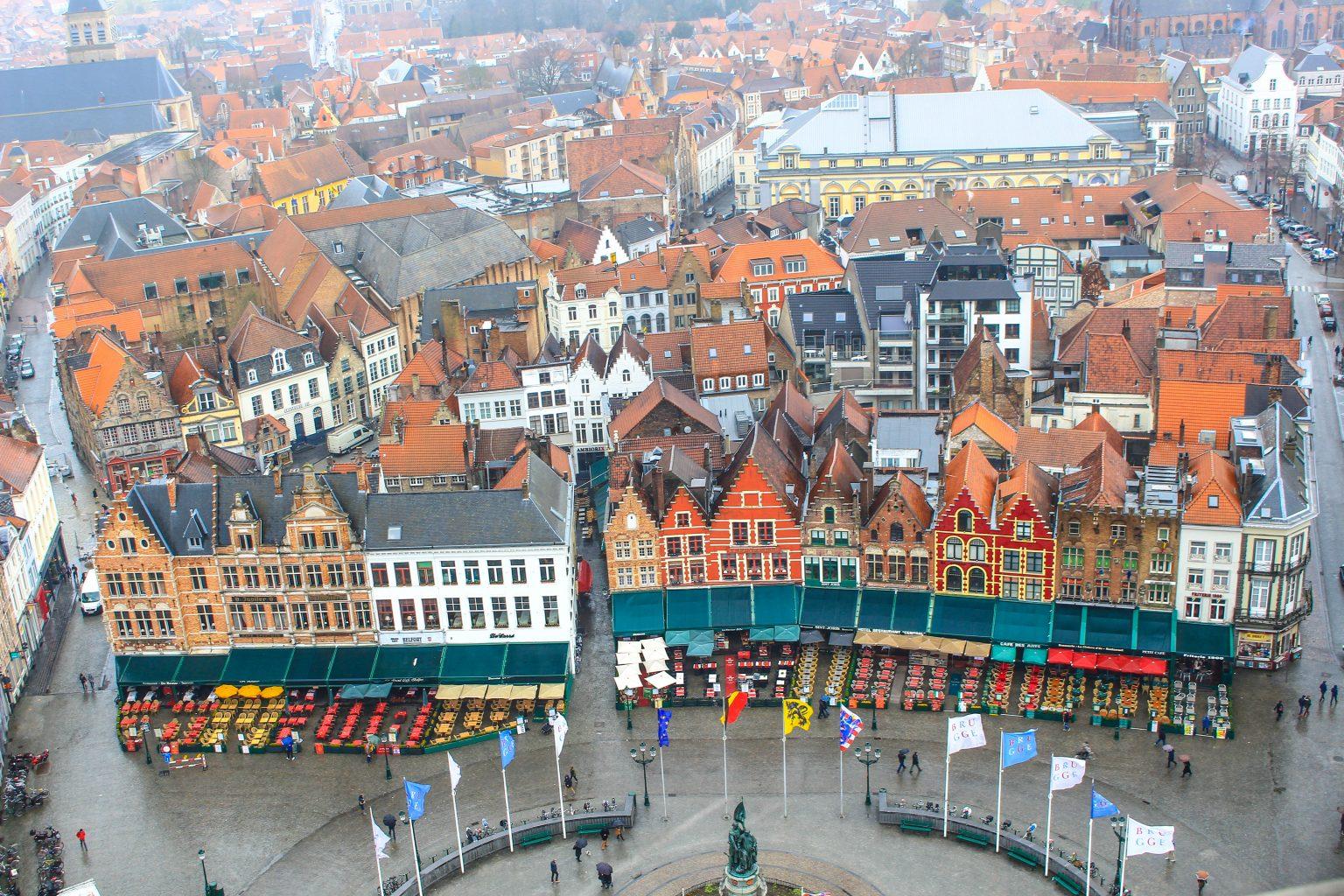 A Self Walking Tour Of Bruges Belgium Bel Around The World