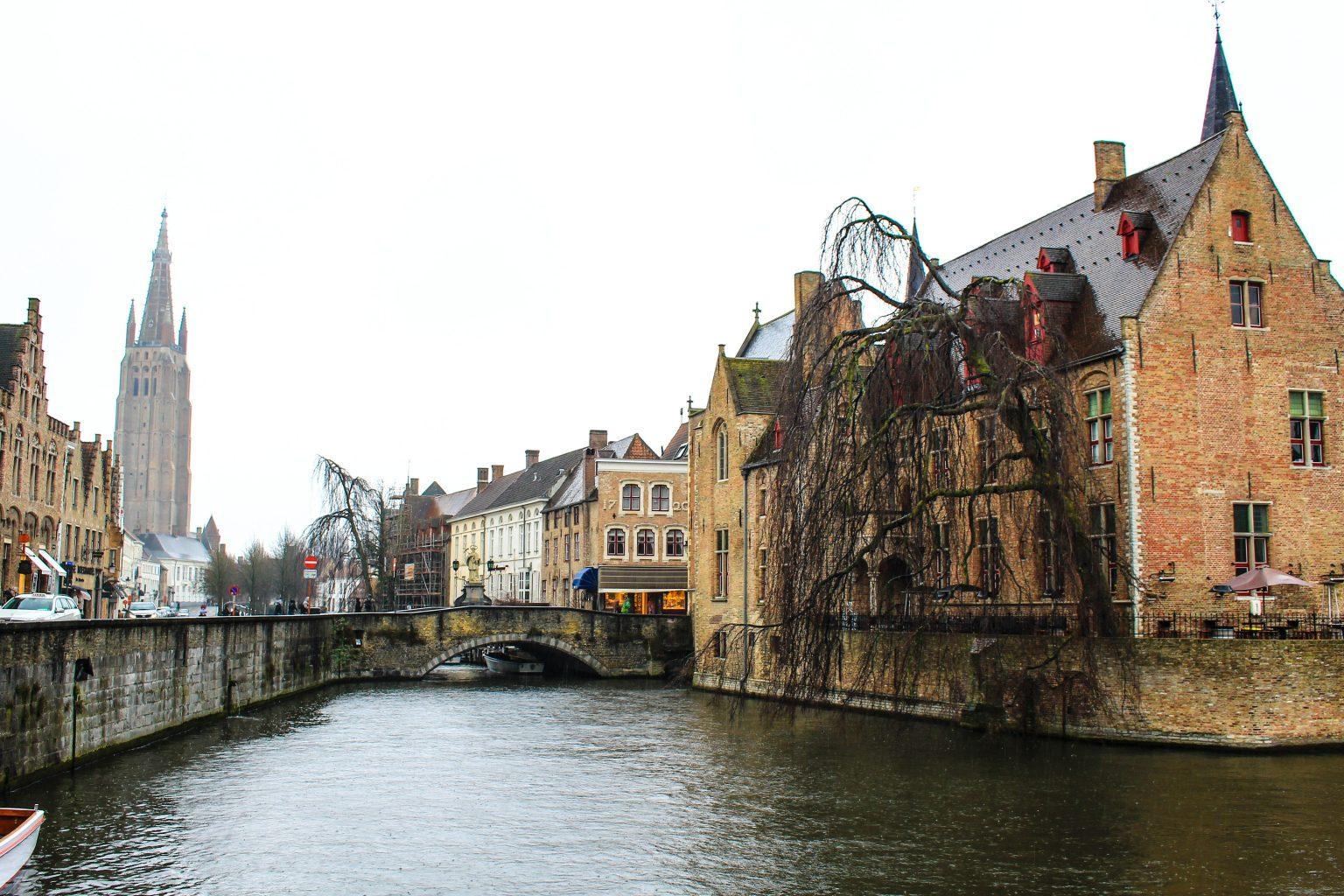 Bruges Belgium rozenhoedkaai, bruges walking tour, brugge city tour