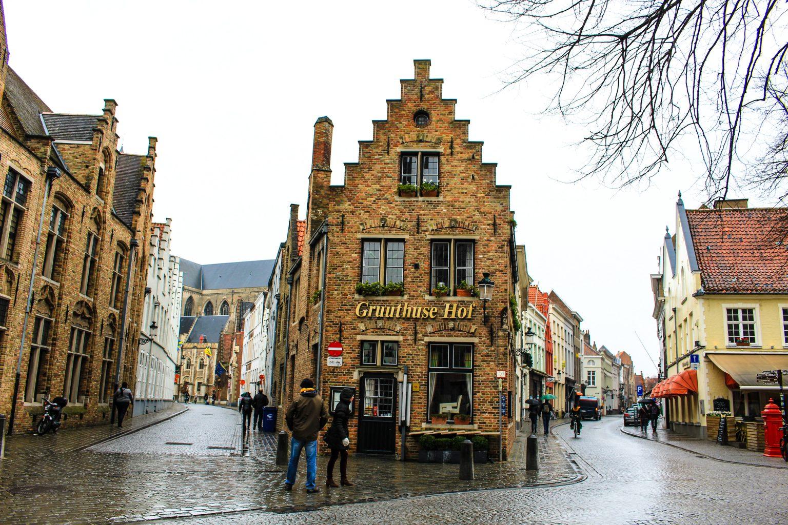 Bruges Belgium street, bruges walking tour, brugge city tour