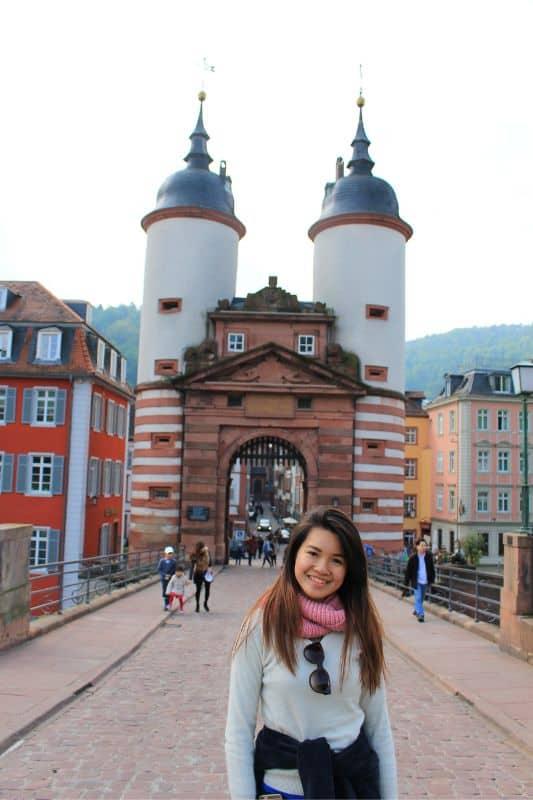 things to do in Heidelberg Germany Karl Theodor bridge lin