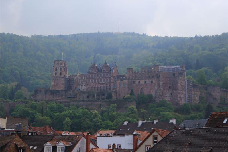 things to do in Heidelberg Germany castle