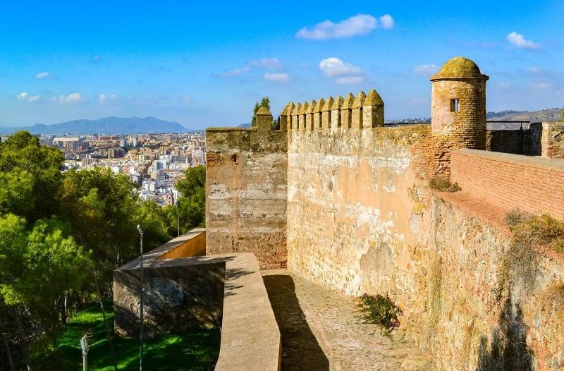 castillo de gibralfaro, things to do in malaga, malaga attractions