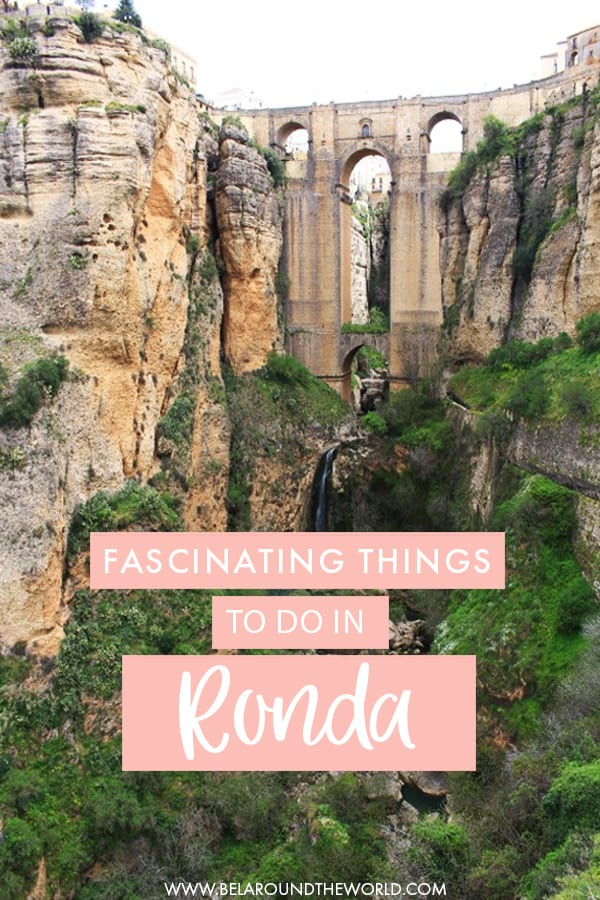 Find all the things to do in #Ronda, #Spain, including the famous bridge! #Europe #Andalusia