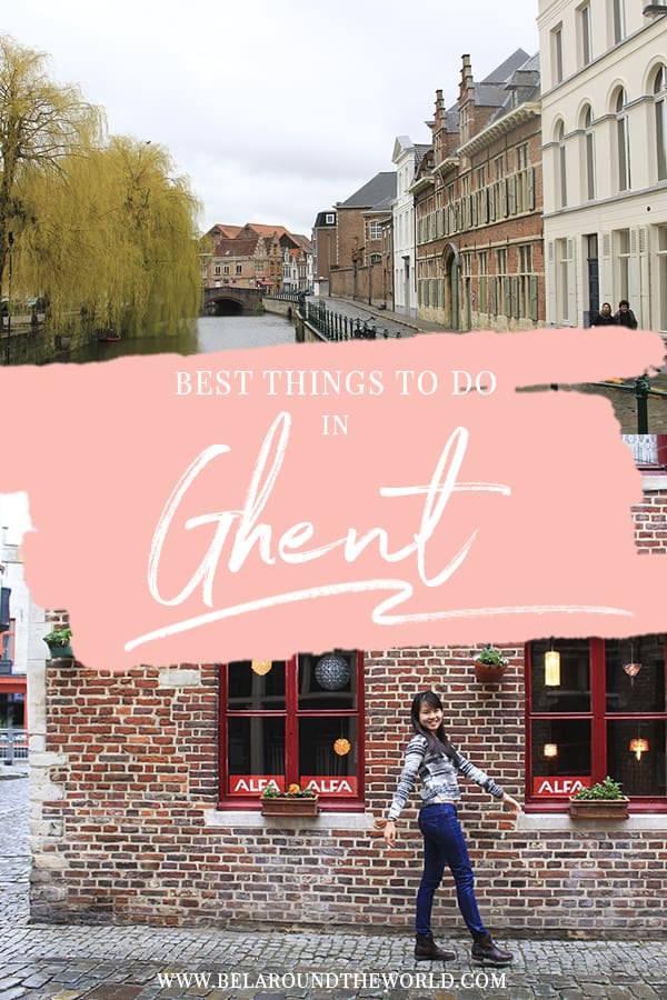 Looking for the best things to do in Ghent, Belgium? Click through for the top points of interests in Gent city!
