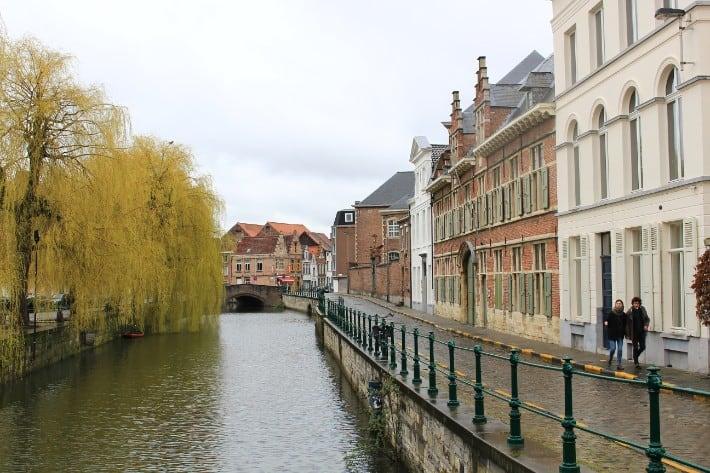 ghent river boat cruise, belgium