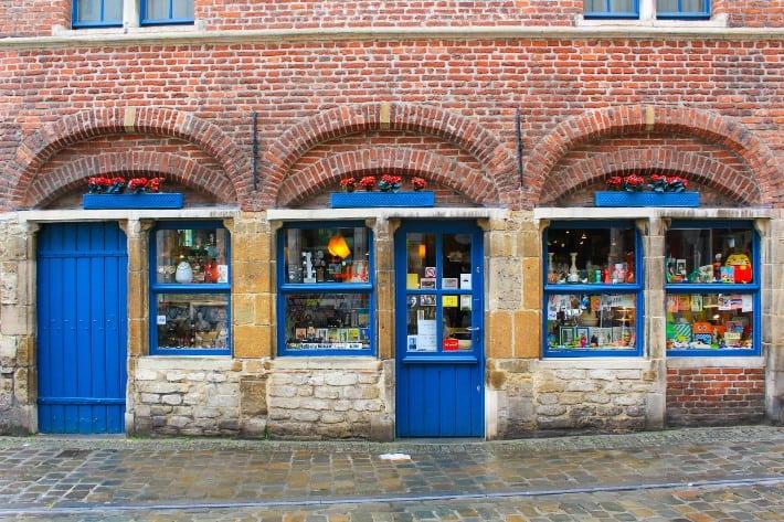 ghent shops, belgium