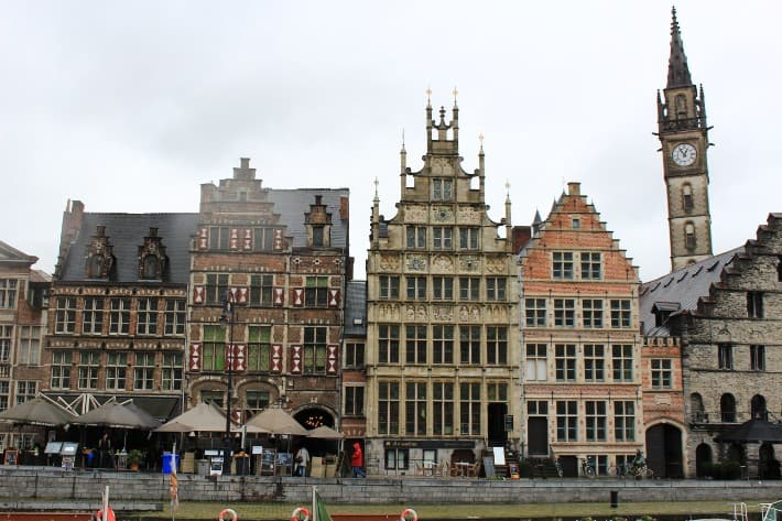 graslei, Best Things To Do in Ghent, Belgium