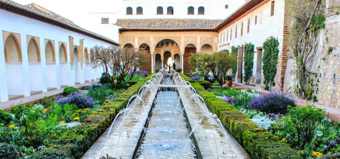 Alhambra & Generalife in Granada, Spain