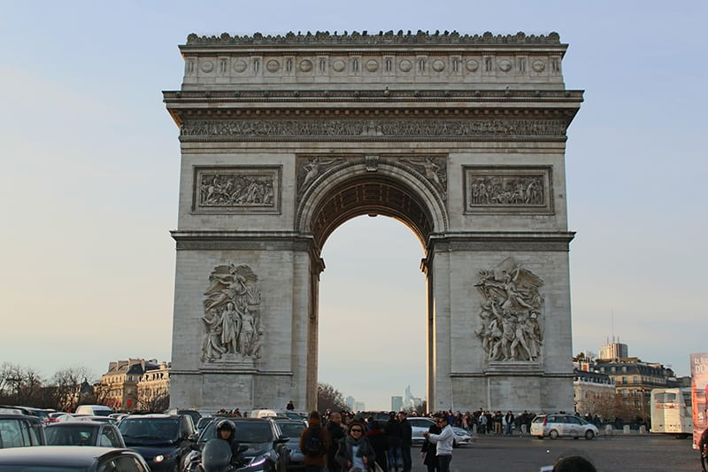 Arc de Triomphe, paris arrondissements map, best places to visit in paris