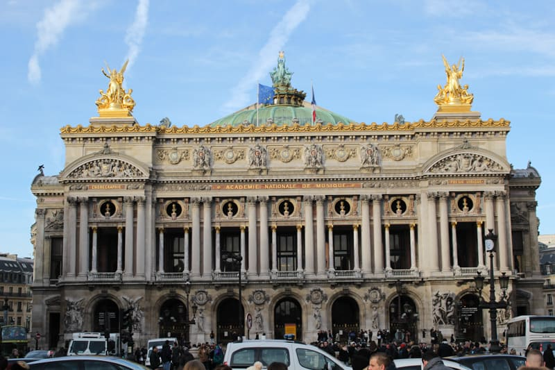palais garnier, paris arrondissements map, best places to visit in paris
