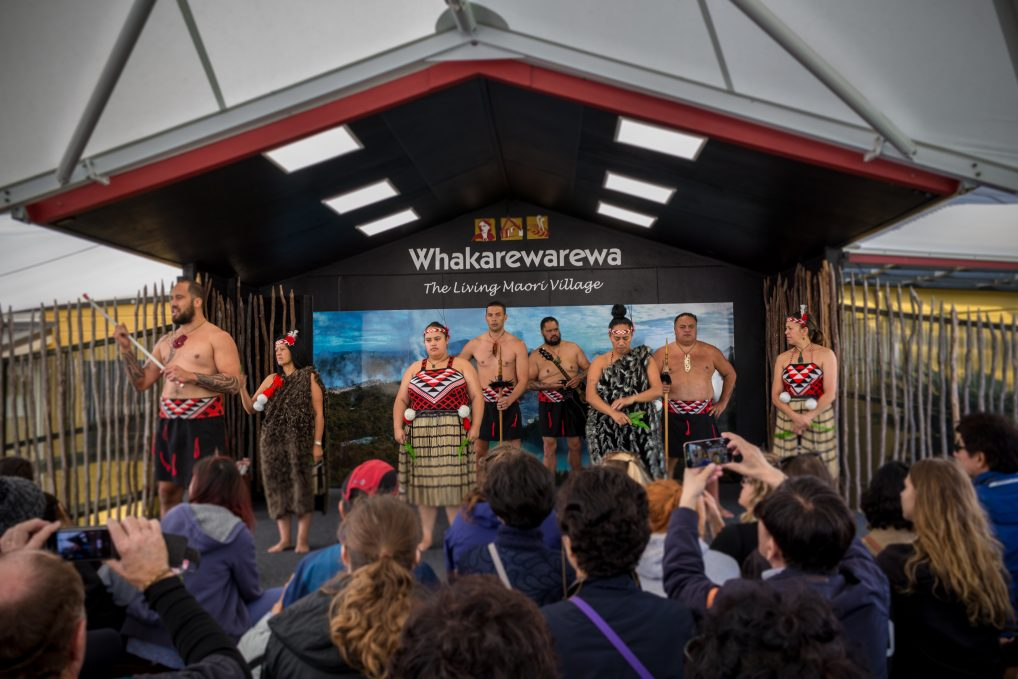 Traditional Maori Village in Rotorua, New Zealand