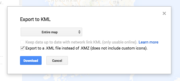 How To Export Your Google Map Itinerary To Your Phone & Use It Offline!