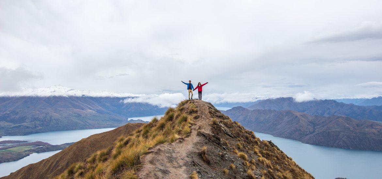 roys peak, new zealand