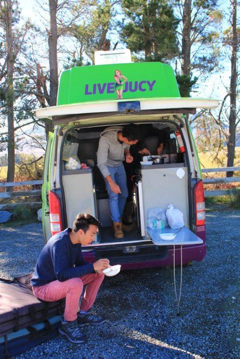 Rent Campervan New Zealand Road trip, driving in new zealand