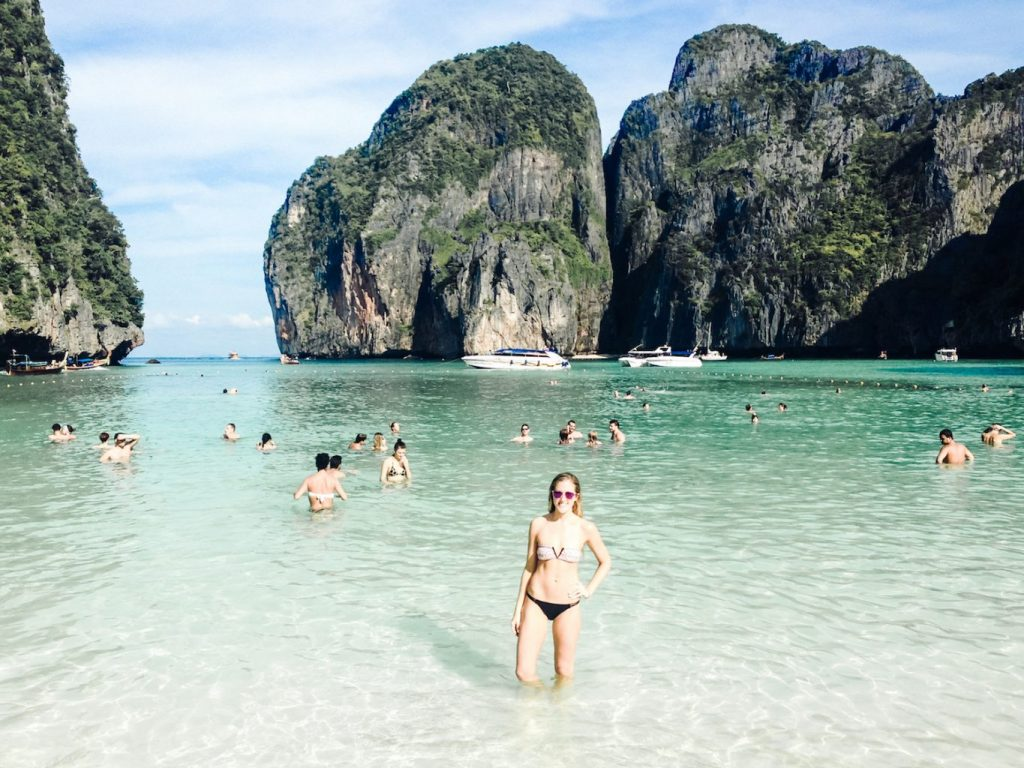 Maya Bay in Koh Phi Phi, Thailand | 12 Best Beaches In The World To Include In Your Bucketlist