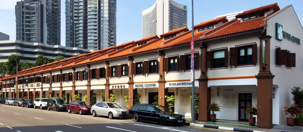 Hotel Clover 33 Jalan Sultan Facade 1_Singapore Unique Luxury Hotels For Under $300