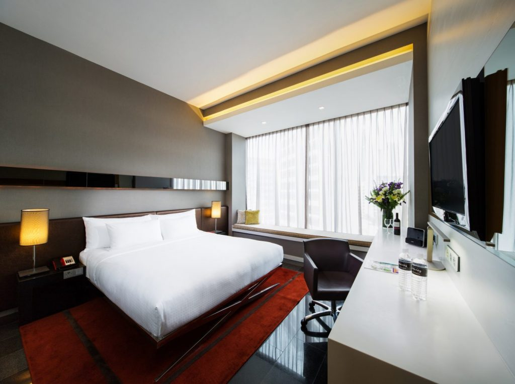 The Quincy Hotel_Studio Room_high; Singapore Unique Luxury Hotels For Under $300