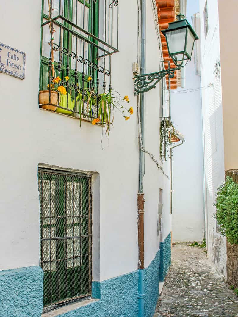 Albaycin Albayzin WInding Alleyway Granada Spain Europe History Old Town