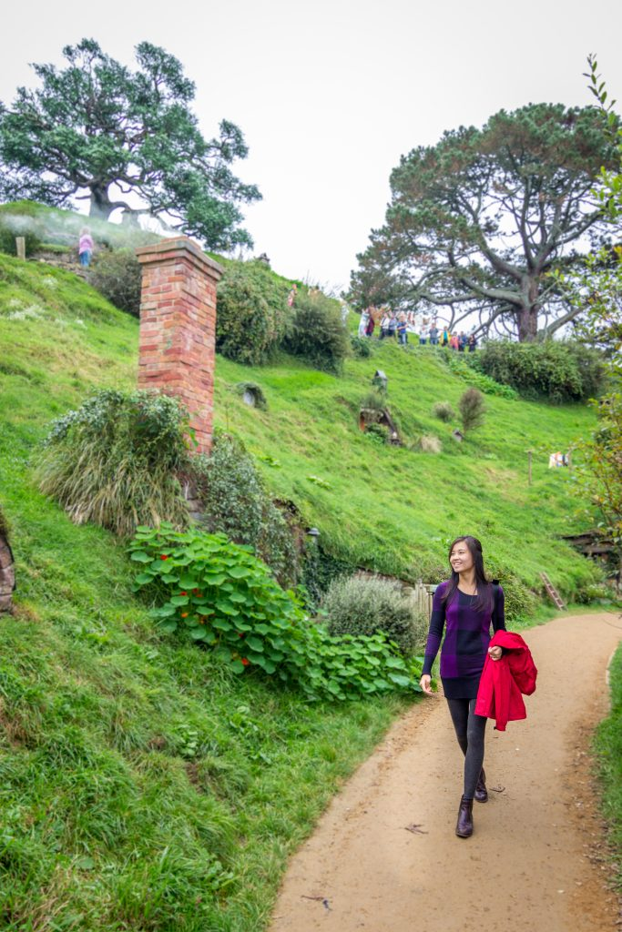 Hobbiton Movie Set Tour Lord of The Rings Matamata walk