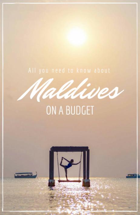 Maldives budget maafushi cheap