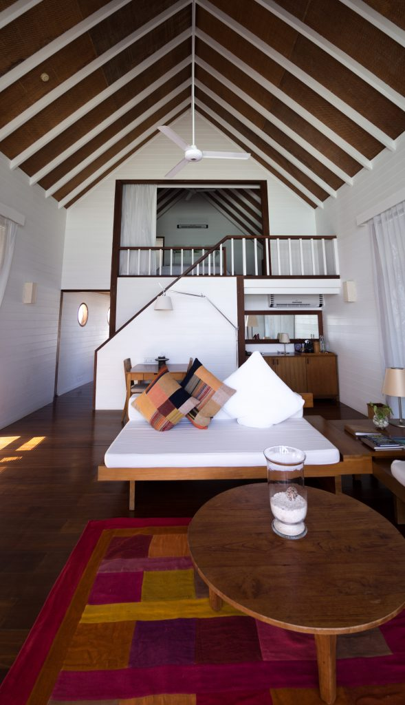 maldives COMO-Cocoa-Island-loft-villa-interior