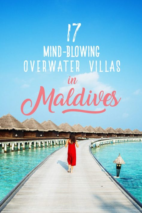 maldives overwater villa resort