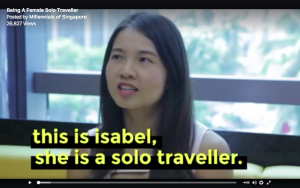 Female Solo Traveller - Interview with Millennials of Singapore Isabel Leong