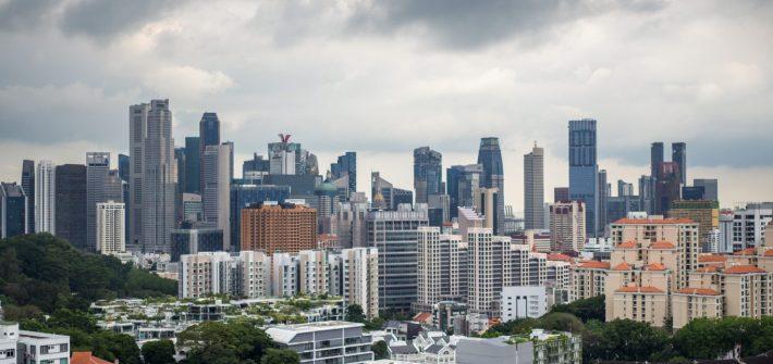 hotel jen orchardgateway singapore view